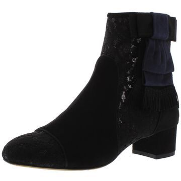 Tabitha Simmons Womens Anastasia Suede Ankle Booties