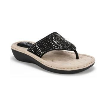Cliffs by White Mountain Cienna Comfort Thong Sandals Women's Shoes