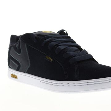 Etnies Fader Mens Blue Suede Lace Up Athletic Skate Shoes