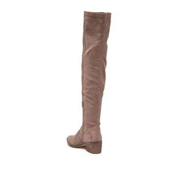 Report Womens Zaria Closed Toe Knee High Fashion Boots