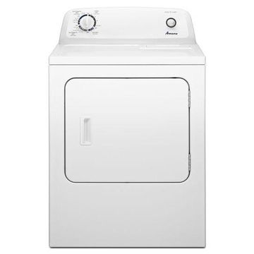 Amana 6.5 Cu. Ft. White Front Loading Gas Dryer