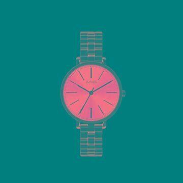 Jones New York Womens Collection Ladies Silver Wristwatches