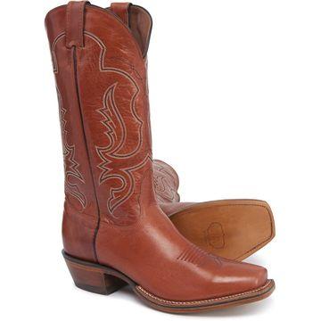 Nocona Brownwood Cowboy Boots - Square Toe, 13