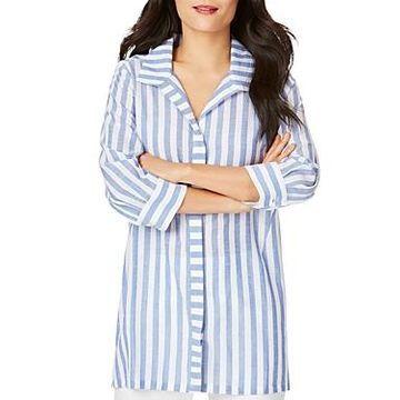 Foxcroft Skye Striped Tunic