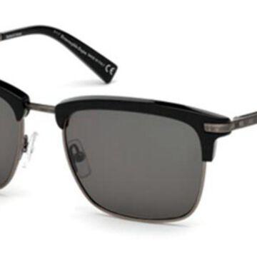 Ermenegildo Zegna EZ0092 01N Men's Sunglasses Black Size 53