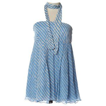 By Malene Birger Blue Silk Skirts