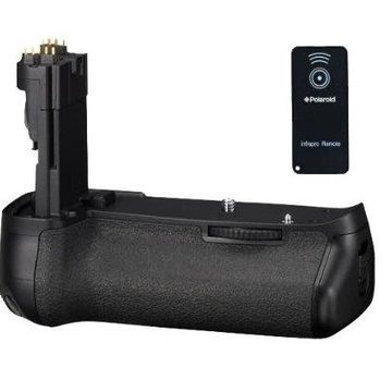 Polaroid Wireless Performance Battery Grip For Canon Eos 5D Mark 3 Digital Slr Camera - Remote Shutter Release Included