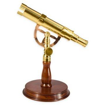 Barska Anchormaster Spyscope in Brass/Mahogany