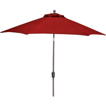 Hanover Traditions Red 11 Ft. Table Umbrella