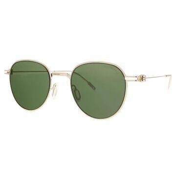 Montblanc MB0002S-002 Gold Aviator Sunglasses - 48-21-145