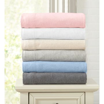 Home Fashion Designs Extra Soft Heather Jersey Knit Sheet Set