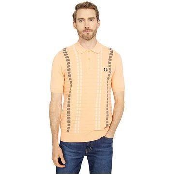Fred Perry Broken Stripe Knitted Shirt