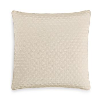 Dimensions Champagne Quilted European Sham, Created for Macy's