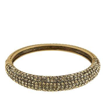 Heidi Daus Hugs From Heidi Crystal-Accented Bangle Bracelet