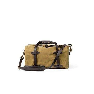 Filson Small Duffel Bag (Tan)