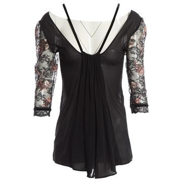 La Perla Black Lace Tops