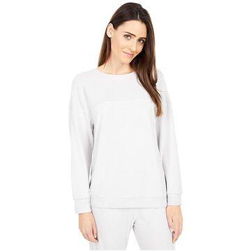 Eberjey Cozy Time - The Combo Sweatshirt (Haze) Women's Sweatshirt