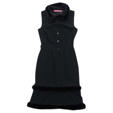 Emanuel Ungaro \N Black Wool Dresses