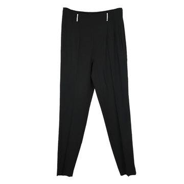 Christopher Kane Black Viscose Trousers