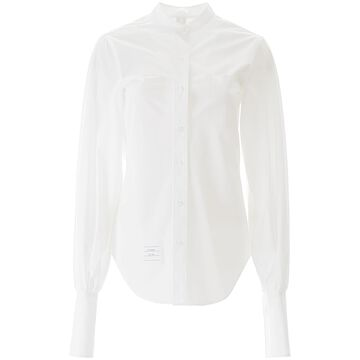 Thom Browne Mandarin Collar Shirt
