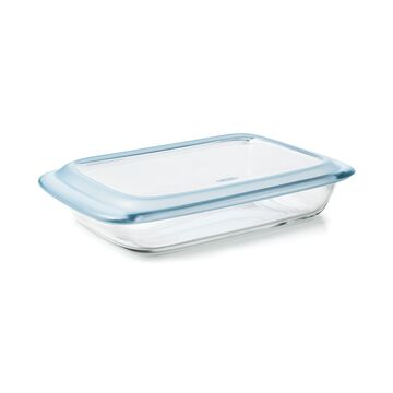 Glass 3-Qt. Baking Dish With Lid