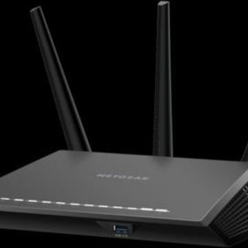 NETGEAR Nighthawk R7000-100NAS Dual Band Wireless and Ethernet Router, Black | Quill