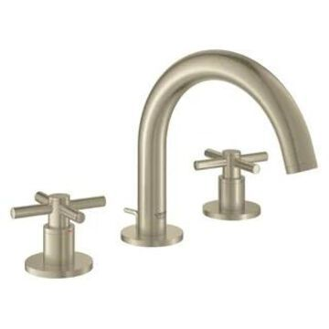 Grohe Atrio Widespread Bathroom Sink Faucet Kit with Cross Handles