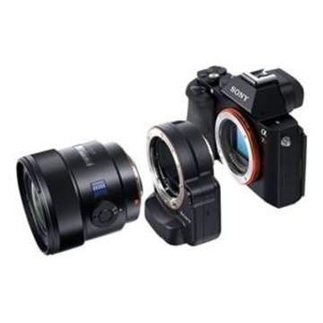 Sony LA-EA4 - Lens adapter Minolta A-type - Sony E-mount - for Sony ILCE-QX1L