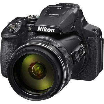 Nikon COOLPIX P900 16MP 83x Super Zoom Digital Camera Full HD Video, WiFi, GPS - Black