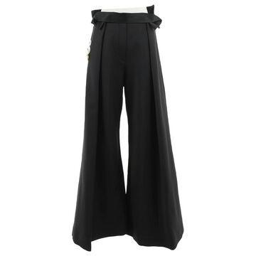 Ellery \N Black Polyester Trousers