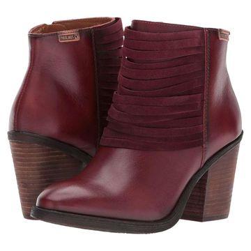 Pikolinos Womens Arcilla Leather Almond Toe Ankle Fashion