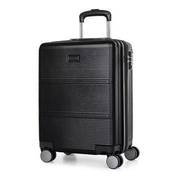 Bugatti Brussels Hard Side Luggage, Black, 24 INCH