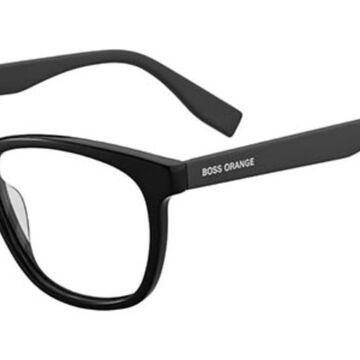 Boss Orange BO 0318 807 Men's Glasses Black Size 52 - Free Lenses - HSA/FSA Insurance - Blue Light Block Available