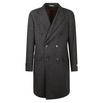 Canali Double Breasted Coat