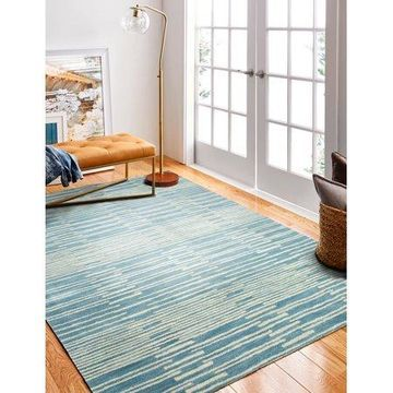 Bashian Princeton Contemporary Striped Area Rug