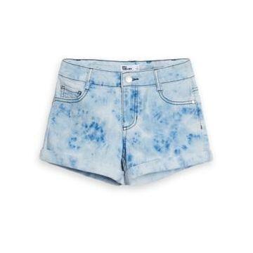 Big Girls Tie Dye Wash Denim Short, Created for Macy's