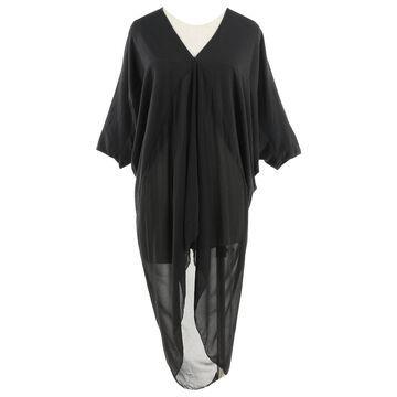 Rick Owens Black Cotton Dresses