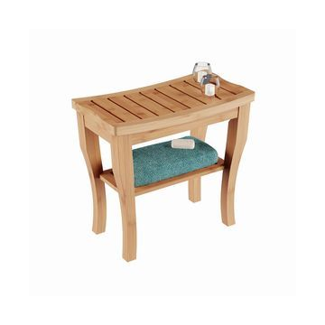 Bamboo Shower Bench, Quick Ship