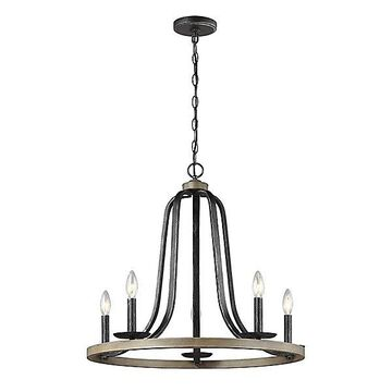 Sea Gull Lighting Conal Chandelier - Color: Brown - Size: 5 light - 3115905-846