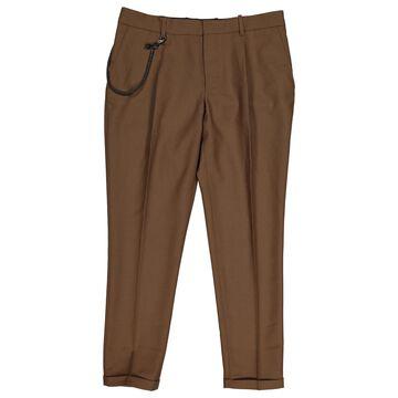 The Kooples \N Brown Wool Trousers