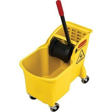 Rubbermaid Commercial 31 Quart Mop Bucket Combination 738000YL