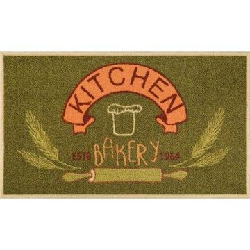 Well Woven Kings Court Kitchen Bakery Kitchen Green Area Rug