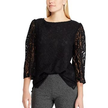 Women's Chaps Lace Top