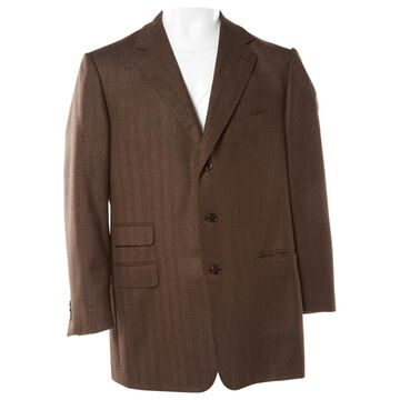 Ermenegildo Zegna Brown Wool Jackets