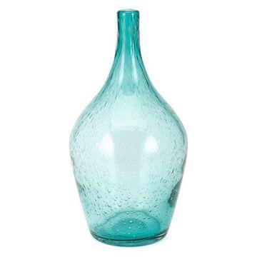 IMAX Home 47976 Matilda 12 1/2 Inch Tall Glass Vase