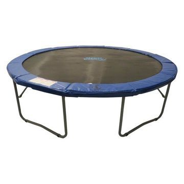 Upper Bounce 12', Round Trampoline With Blue Safety Pad