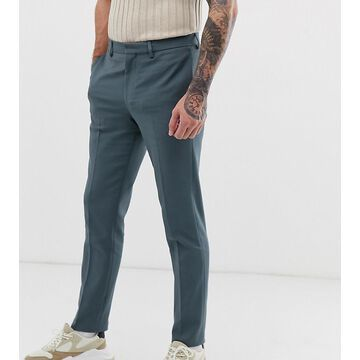 Noak slim fit smart pants in blue