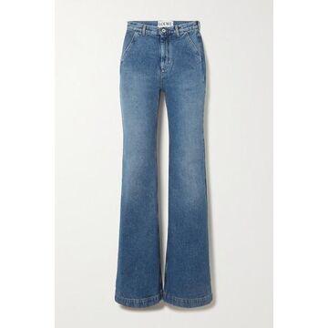 Loewe - High-rise Straight-leg Jeans - Blue