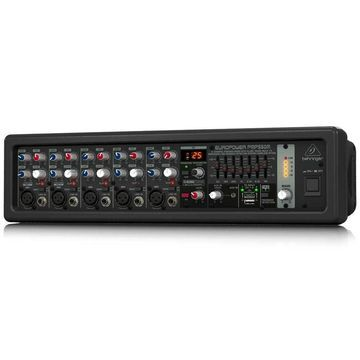 BEHRINGER 5 PMP550M 500-Watt 5-Channel Powered Mixer with Klark Teknik Multi-...