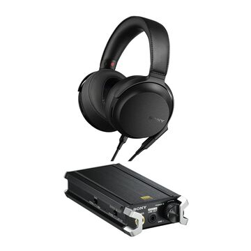 Sony MDR-Z7M2 Hi-Res Stereo Overhead Headphones with Portable Hi-Res DAC/Headphone Amplifier in Black